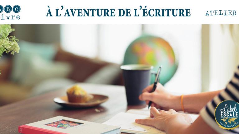 Ateliers À l'aventure de l'écriture