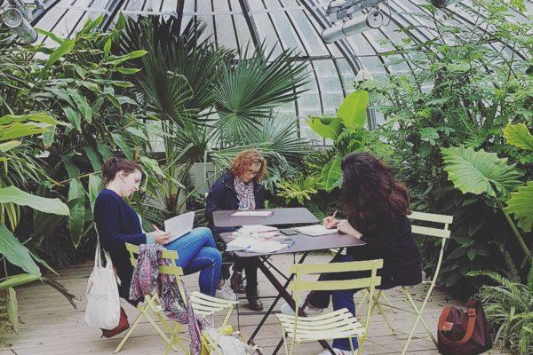 Retour sur les ateliers d'écriture nomade 2019