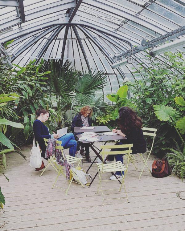 Retour sur les ateliers d'écriture nomade
