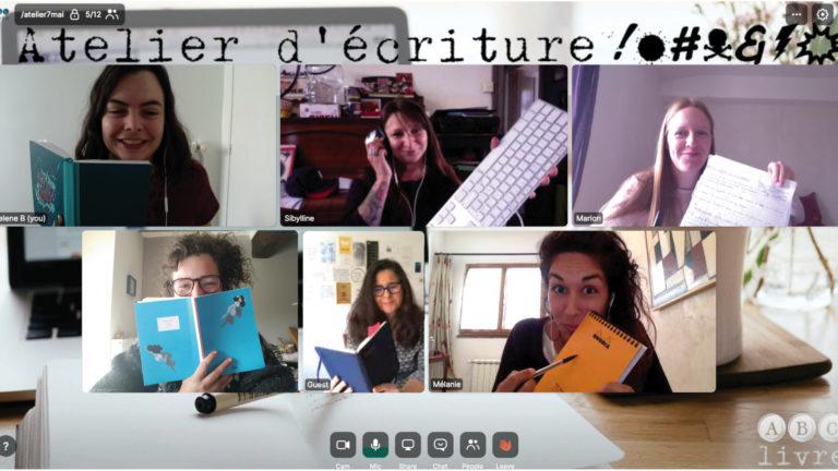 Expérimenter l'atelier d'écriture @&!# défouloir en ligne