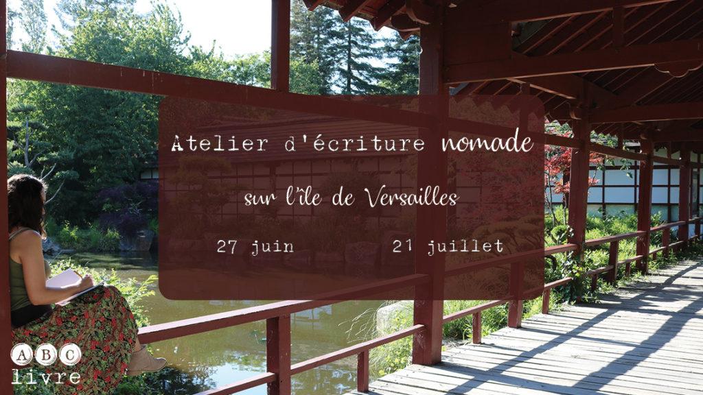 Atelier d'écriture nomade Nantes