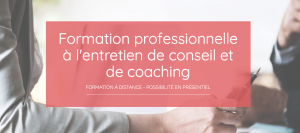 Formation professionnelle Conseils