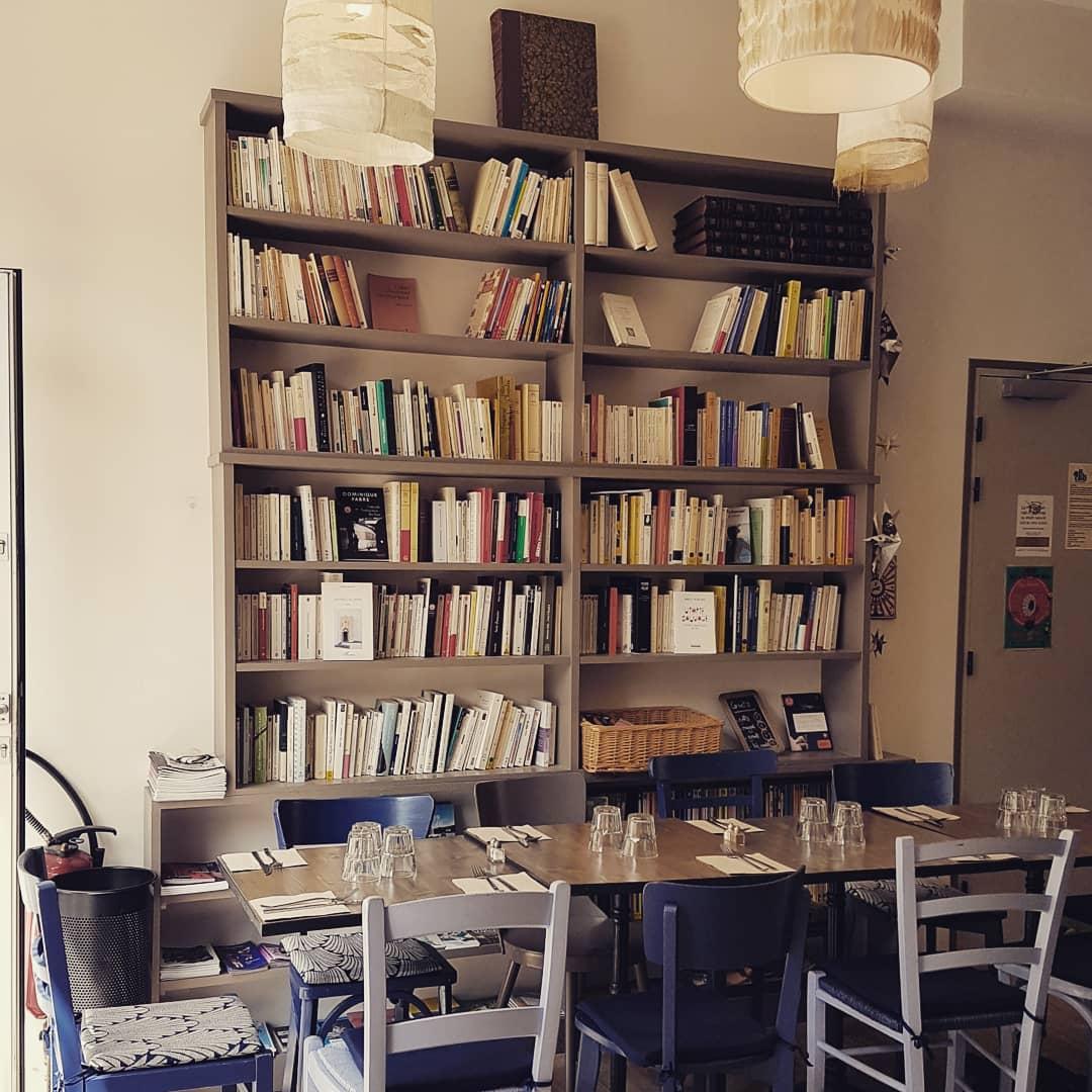 Déjeuner Loo librairie gourmande
