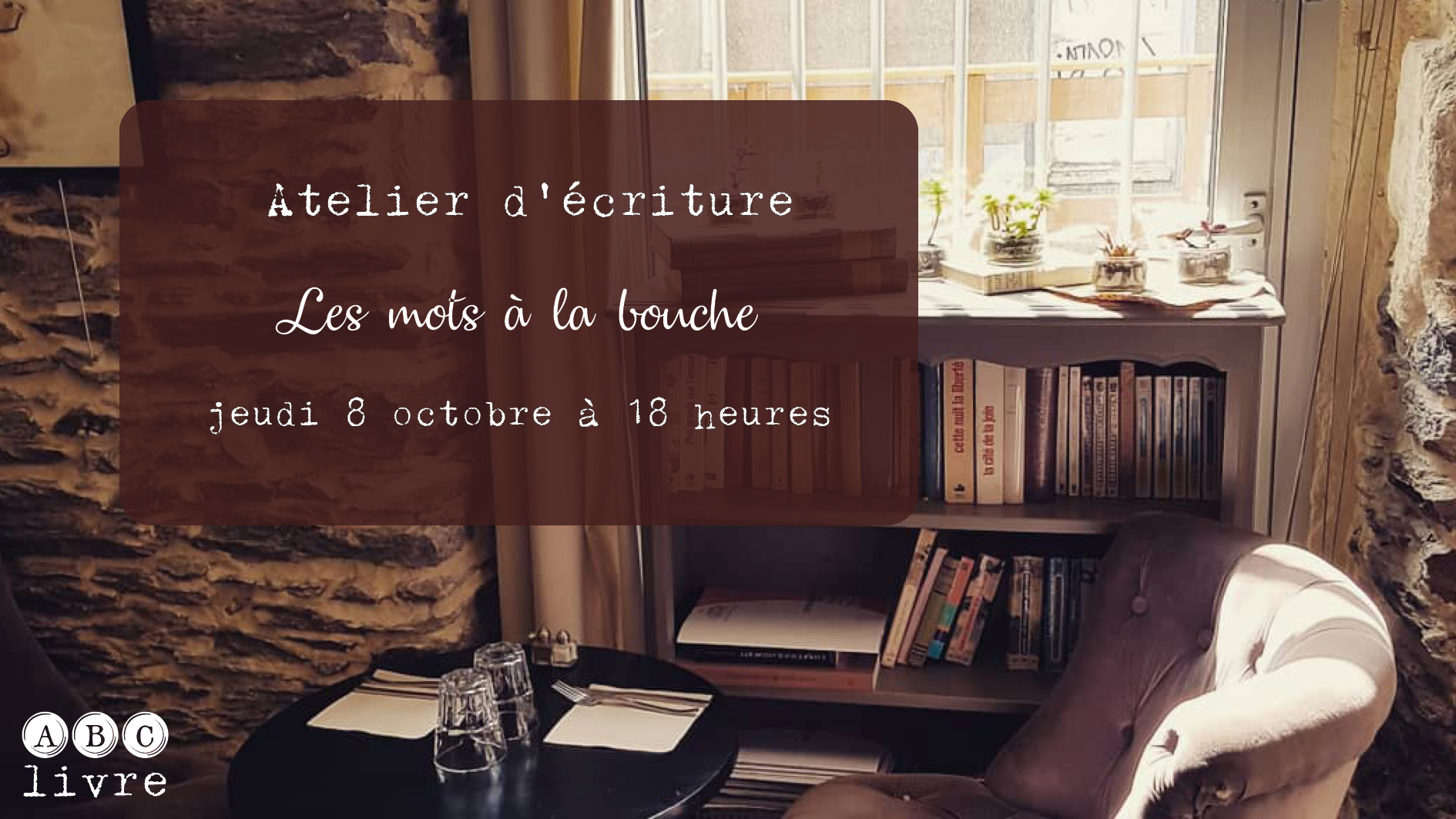 Ateleir d'écriture au Loo Nantes