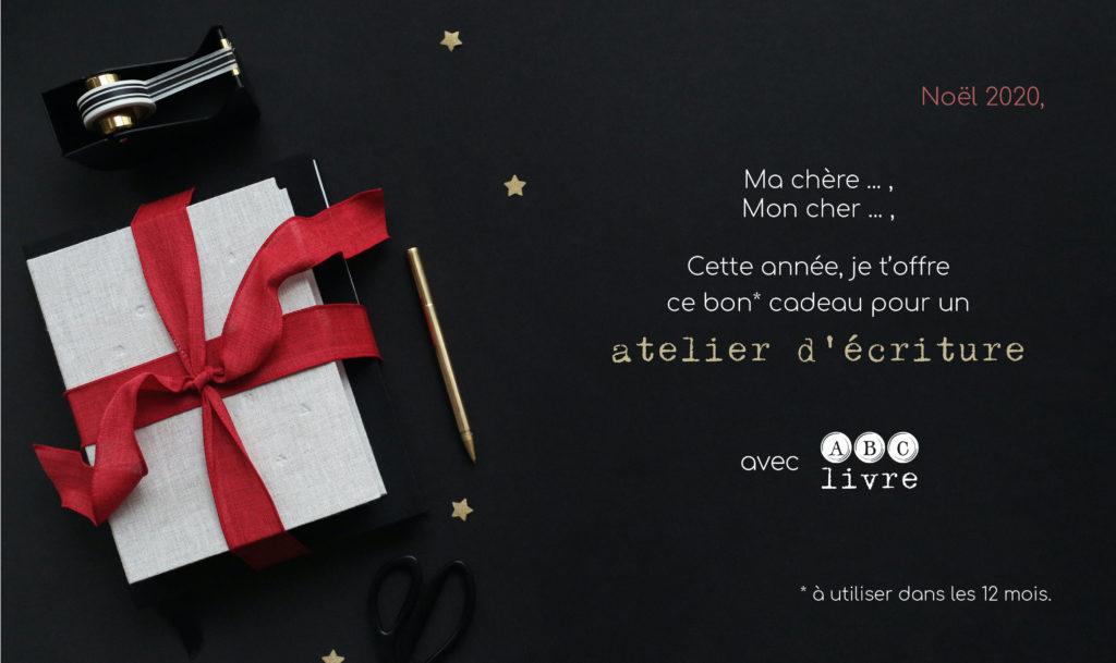 Offrir un atelier d'écriture à Nantes à Noel