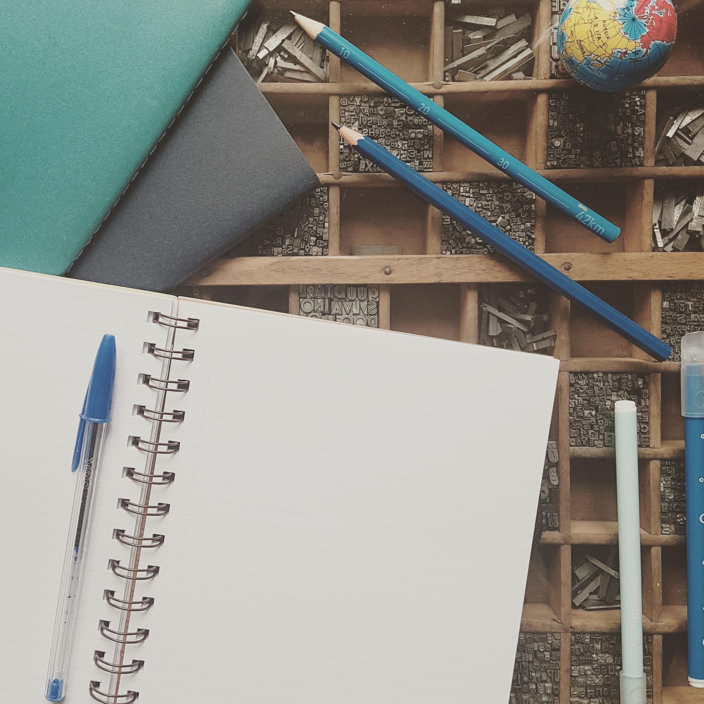 Atelier d'écriture Autour du bleu