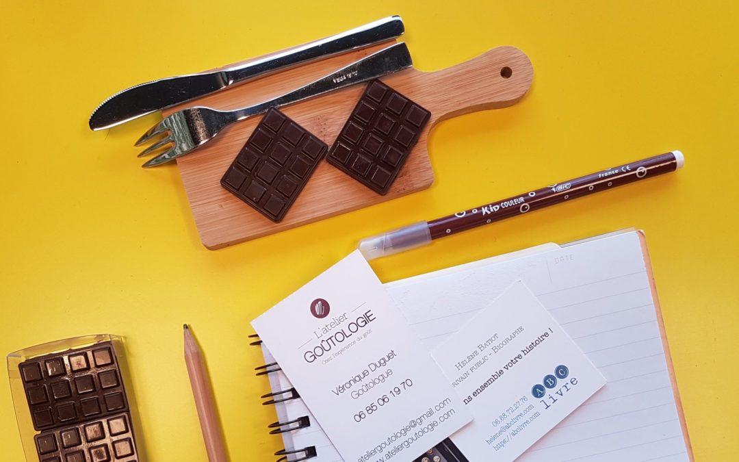 Atelier écriture et chocolat noir à Nantes