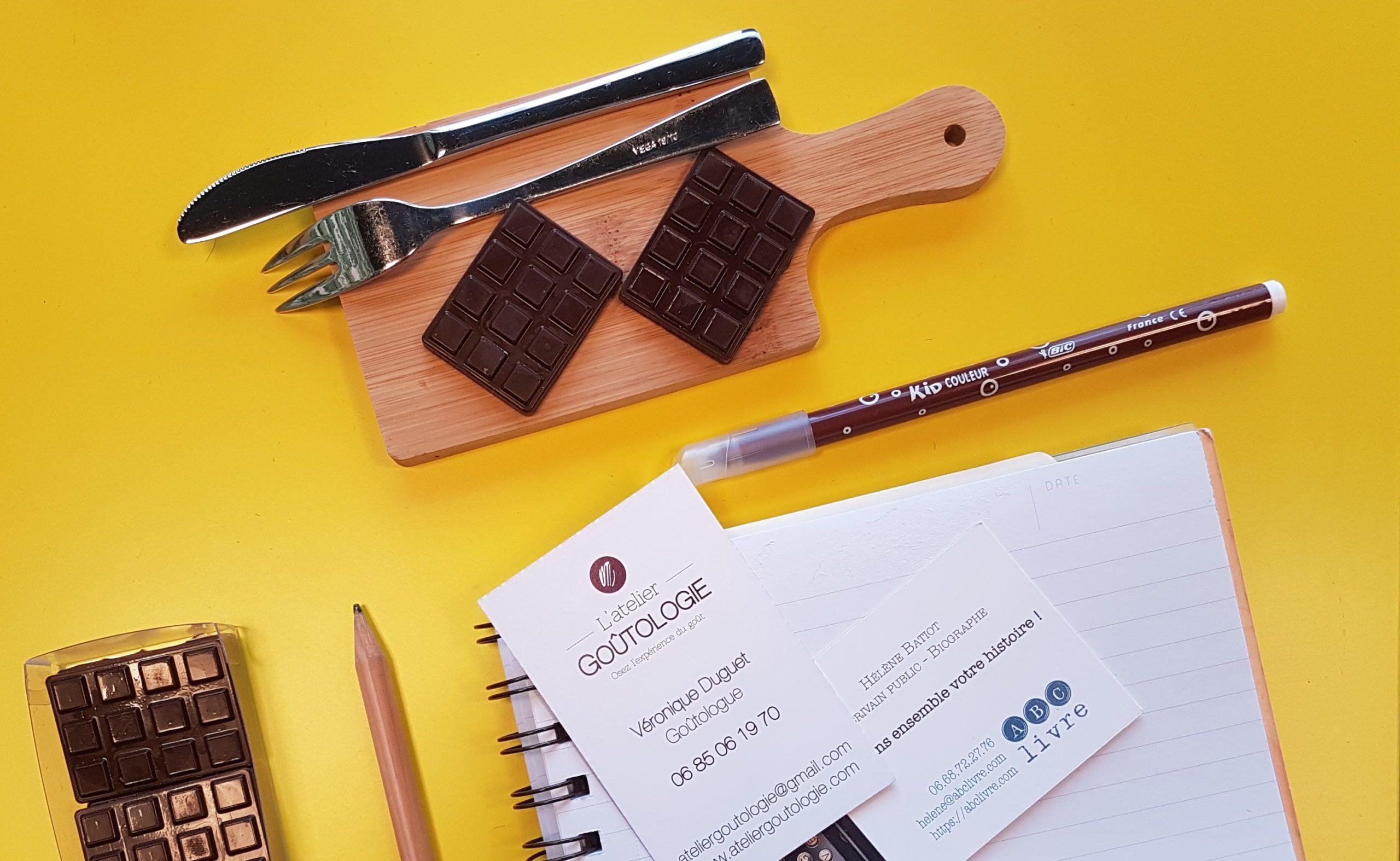 Atelier écriture et chocolat noir