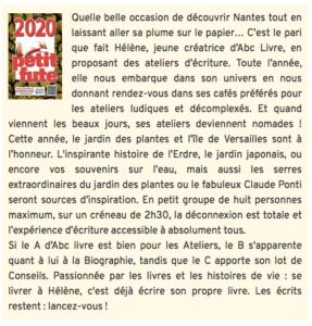 guide petit futé Nantes 2020