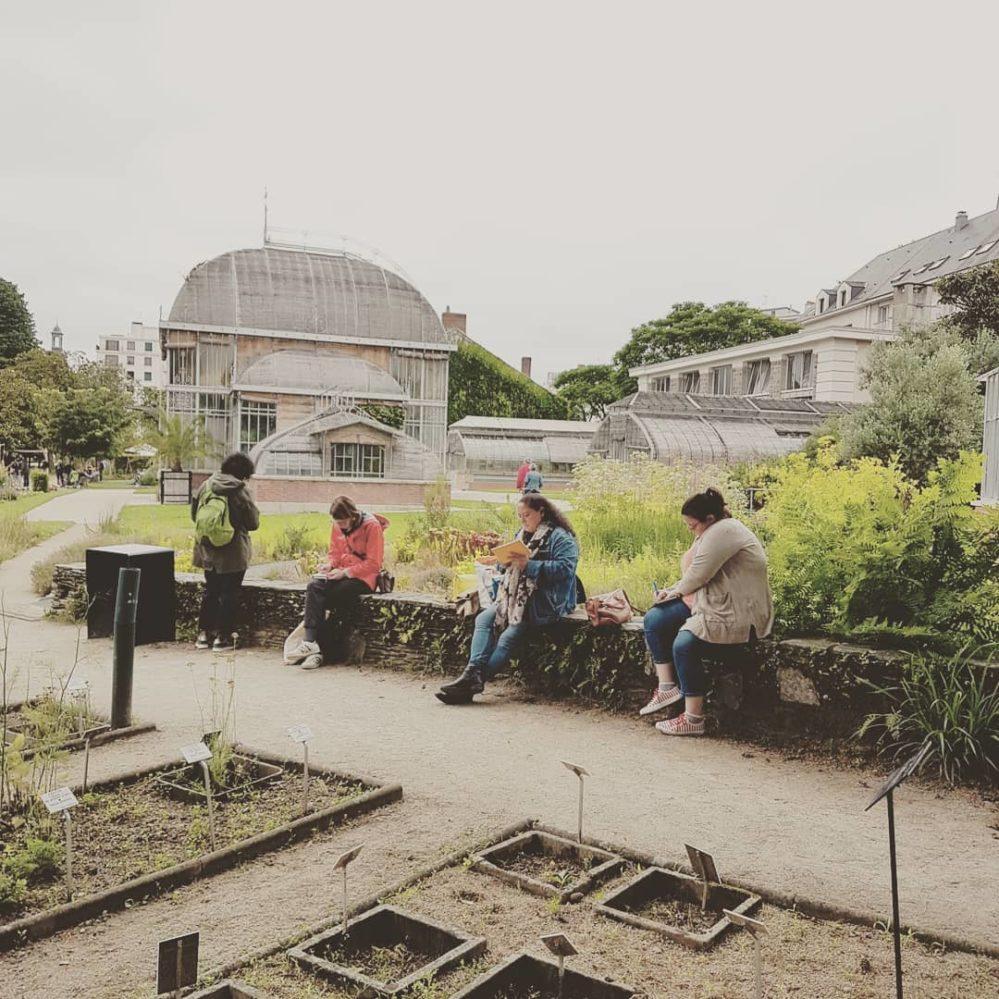 Atelier d'écriture nomade au jardin des plantes