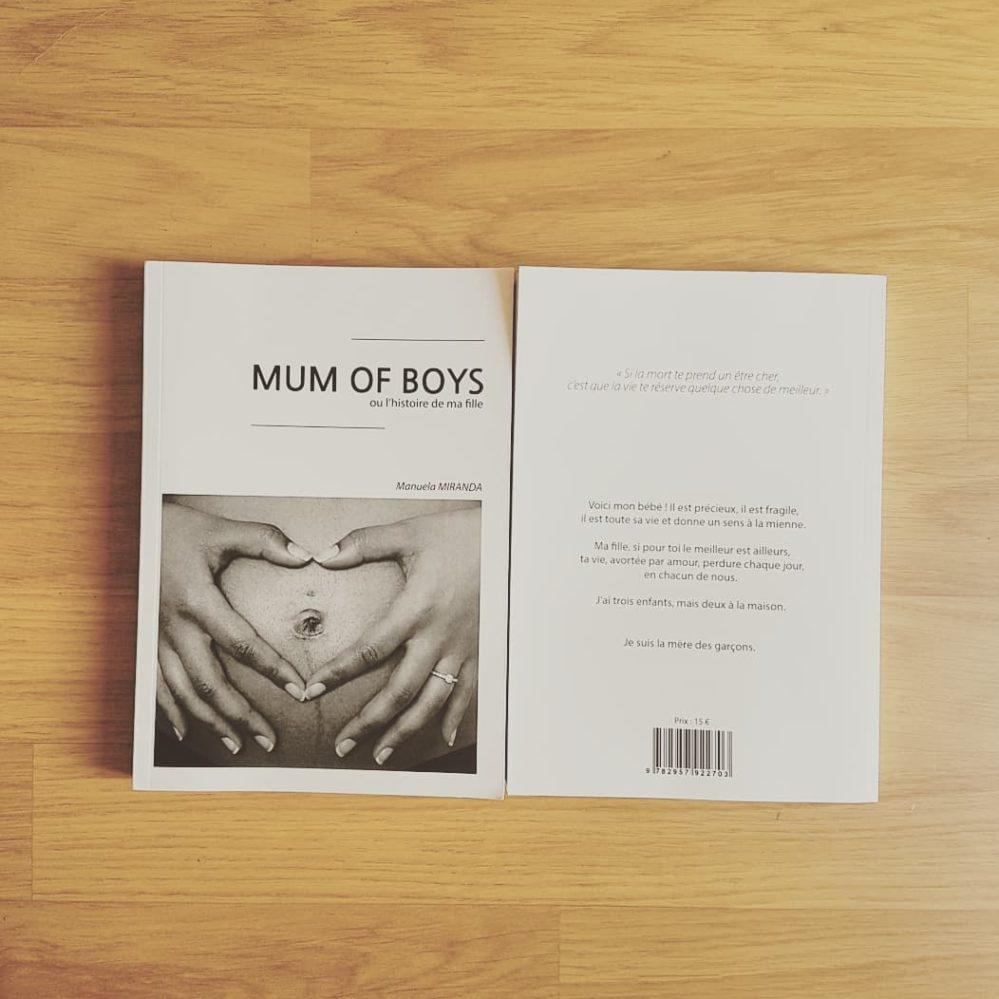 livre mum of boys résumé
