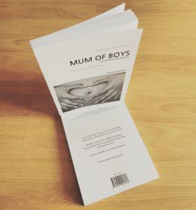 livre mum of boys couverture