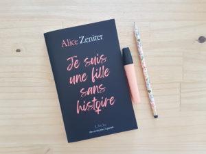 Alice Zeniter - je suis une fille sans histoire