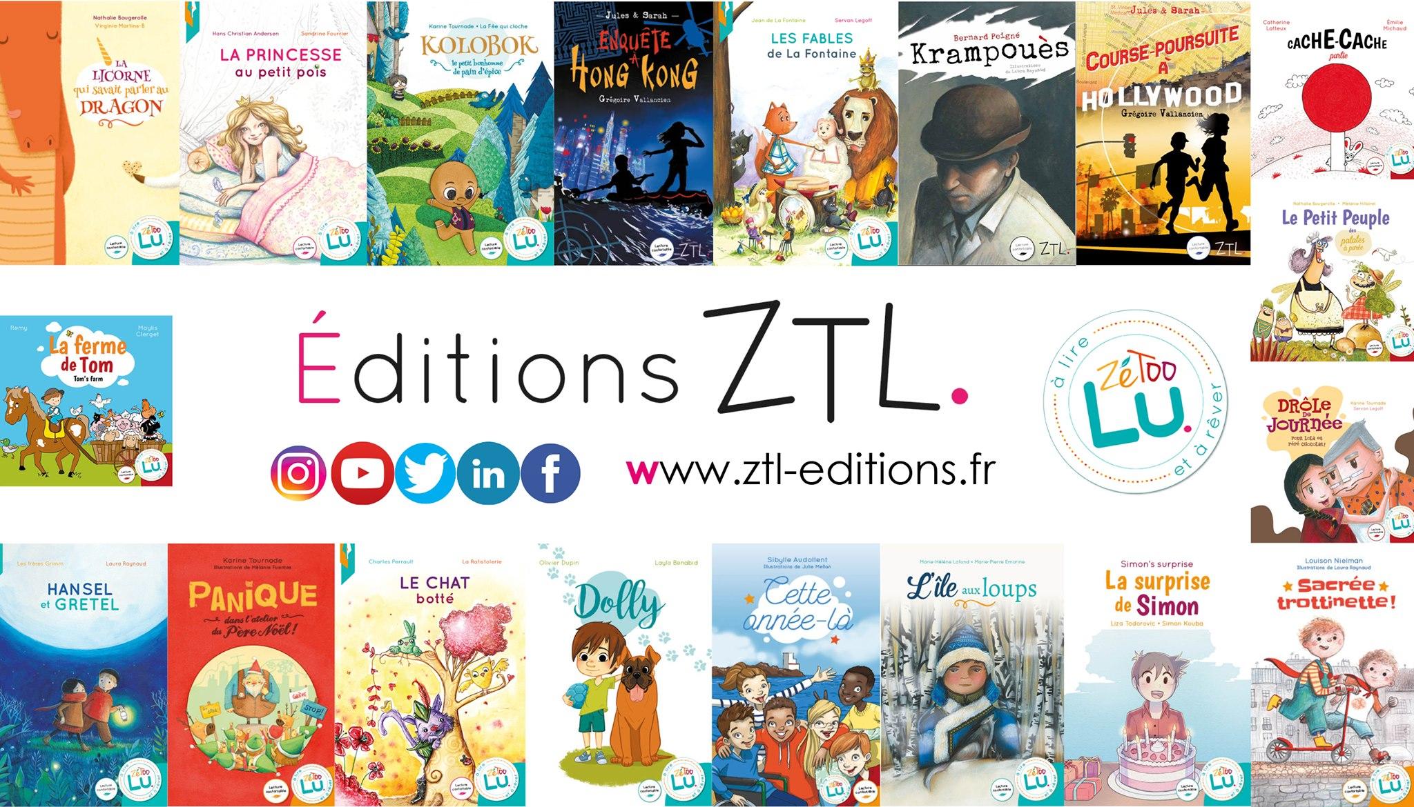 éditions ZTL visuel bandeau